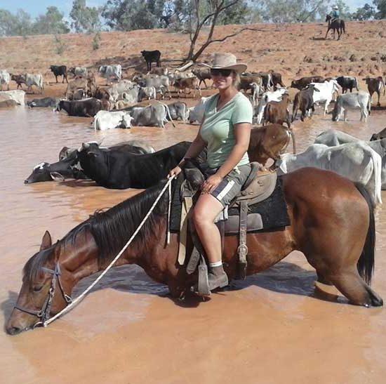 Trabajo de vaquero en Australia