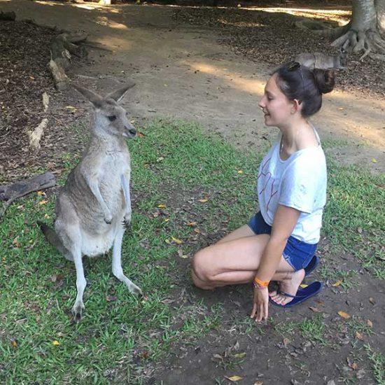 Con mi canguru