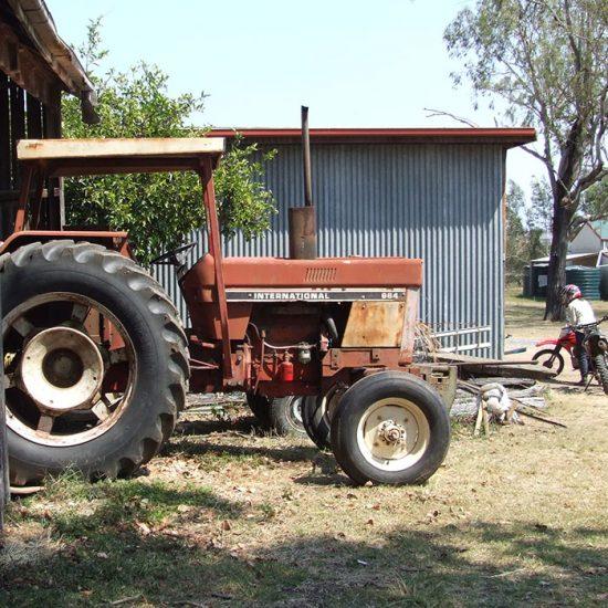 Tractor en Australia